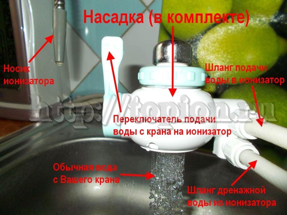 Режим воды на смеситель