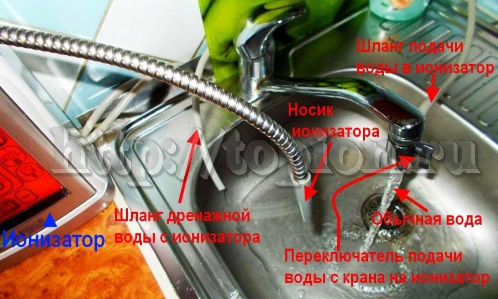 активатор воды выключен
