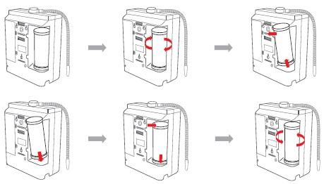 замена фильтра у ионизатора воды